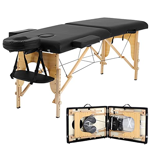 Portable Massage Table Salon Bed Spa Bed Folding 73 Inches Height...