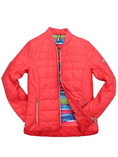 ROADSIGN Australia - Damen Steppjacke (3023-9302N3023), Größe:38, Farbe:Rot (61)