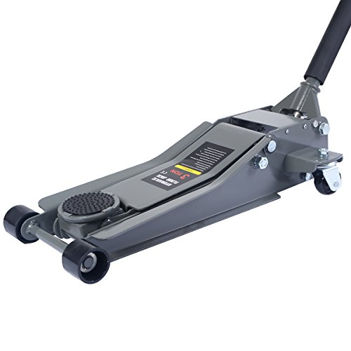 Goplus Floor Jack w/Rapid Pump Quick Lift 3 Ton Garage...