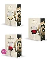 bag in box misto - 3 confezioni da 5 litri - 5 litri di chardonnay veneto igt - 5 litri di merlot veneto igt - 5 litri di rosato veneto igt