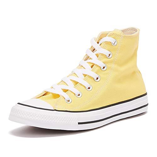 Converse Damenschuhe-Sneaker 168576C Chuck Taylor All Star HI Textil gelb Butter Yellow, Groesse:37.5 EU