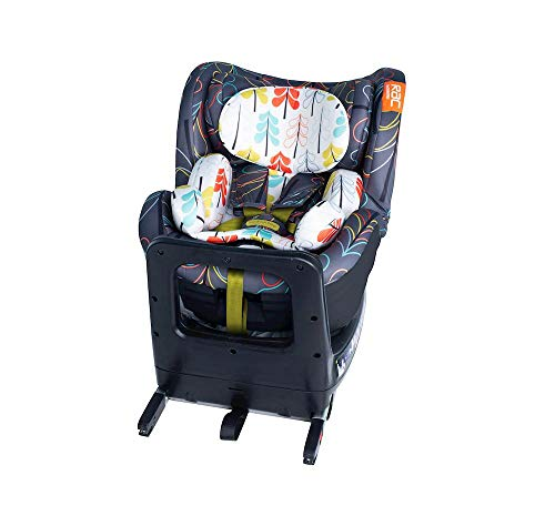 Cosatto RAC Come and Go i-Rotate Baby to Toddler Car Seat - i-Size 0-4 years, ISOFIX, Extended Rear Facing, Anti-Escape (Nordik)