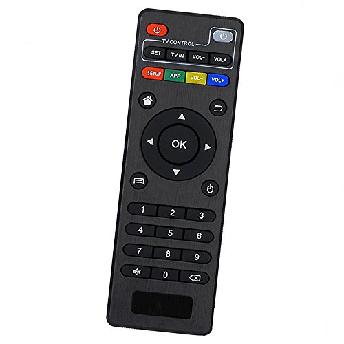 Amiroko Replacement Remote Control Controller for MXQ (Amlogic S805/S905), MXQ PRO, T95N, T95M Android TV Box - [Updated Version]