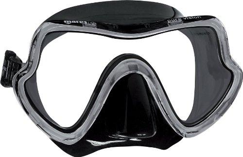Mares Pure Vision Máscara de Buceo, Unisex Adulto, Black, One Size