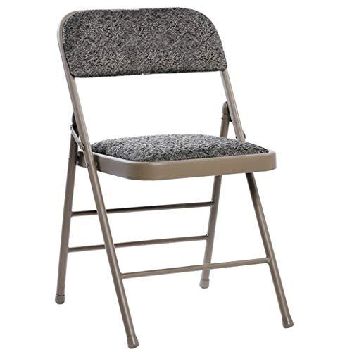 YUESFZ Vouwstoelen Zakelijk Kantoor Opvouwbare Metalen Achterbank Training Tentoonstelling Duurzame Stoel Slaapzaal Verhuur Huis Lounge Stoel