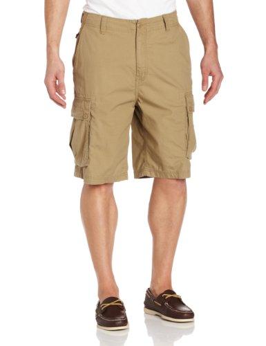 Nautica Men's Ripstop Cargo Short, Khaki, 42