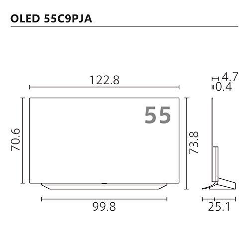LG55V型4Kチューナー内蔵有機ELテレビAlexa搭載ドルビーアトモス対応TVOLED55C9PJA