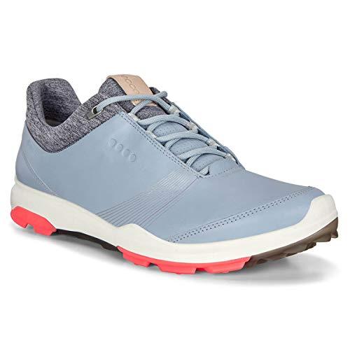 ECCO Damen Gore Wasserdicht Biom Hybrid 3 Golfschuhe - Dusty Blau - UK7-7.5