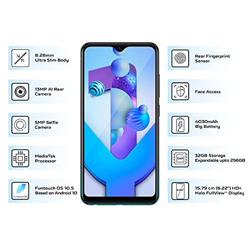 Vivo Y1s (Olive Black, 3GB RAM, 32GB Storage) with No Cost EMI/Additional Exchange Offers 3