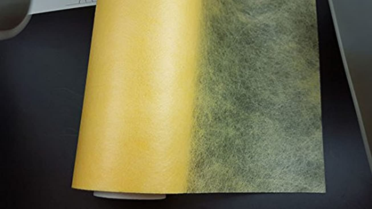 九月たくさん筋肉の不織布ロール フラワーラップ デボラ74 パステルイエロー 幅65cm X 20m