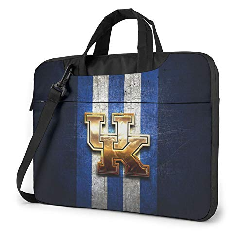 Kentucky-Wildcats-Golden-Blue Laptop Bags Durable Computer Bag Briefcase Shoulder Bag Computer Carrying Case for Men,Women, Business Briefcases Suitable for Computer/Laptop/MacBook 14 inch