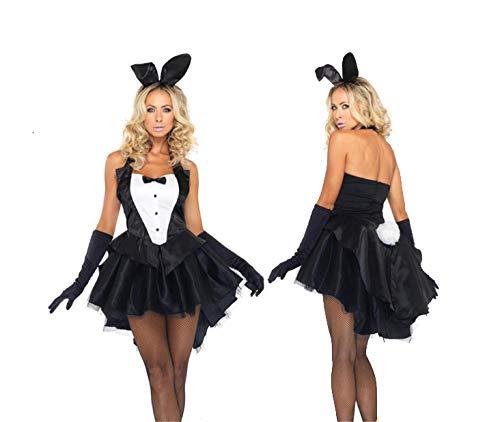 GMDNS Damen Reizwäsche Sexy Mädchen Kostüm Versuchung Cosplay Halloween Karneval Nacht Party Kostüm-Kleid_M.
