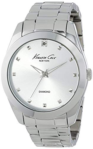 Kenneth Cole Reloj Analógico para Hombres de Cuarzo con Correa en Cuero 10007956