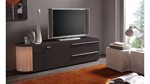 Meuble TV design Lumino 2 Gris