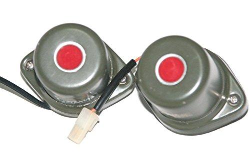 RS Vintage Teile rsv-b00zlqu756-01247 Motorrad Teile Paar Militär Blackout Stop Li ght denper Ural BSA Unimog S404 Klebestreifen Willys
