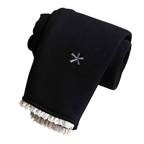 Vertvie Meisjeslegging, warme winter, thermo lange broek, potlood, thermische kousenbroek, comfortband, panty, gevoerd, vrijetijdsbroek, elasticiteit, jeggings