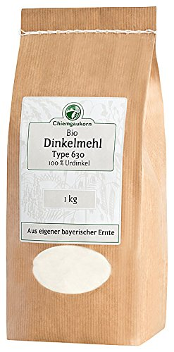 Chiemgaukorn Bio Dinkelmehl Type 630 1 kg, Urdinkel