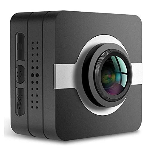 CXSD Cámara espía Wifi oculta, la cámara de vigilancia de seguridad más pequeña 1080P Full HD inalámbrica mini cámara, cámara web de monitoreo remoto portátil (tarjeta SD de 128g)