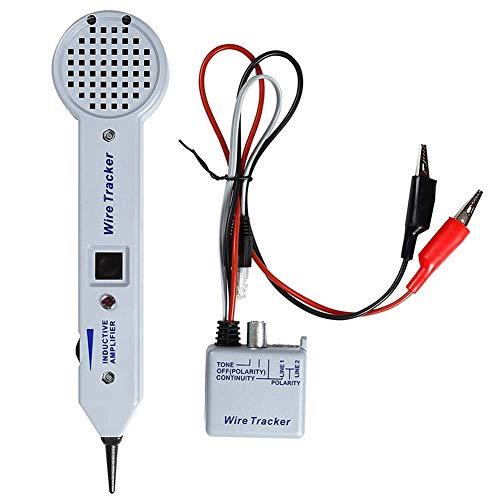 DIDILI Kit Generador de Tono, Traza, Probador de Cables, Trazador de LíNea...