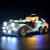 Guerlam Kit de iluminación LED para Batman Película El Penguintm Arctic Roller - Compatible con el Modelo de Bloques de construcción Lego 70911, NO Incluye el Modelo de Montaje del Rompecabezas.