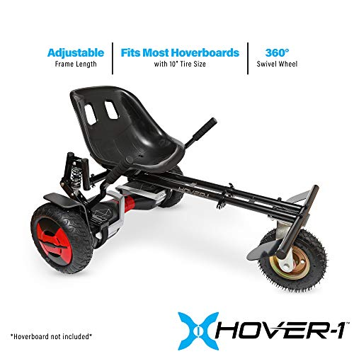 Hover-1 Beast Buggy Attachment Transform Hoverboard into Off-Road Go-Kart