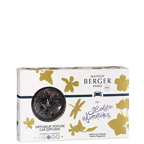 Maison Berger Paris - Diffuseur Voiture Lolita Lempicka Gun Métal + Recharge
