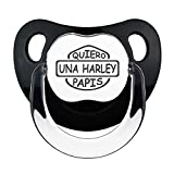 Chupete Quiero una Harley papis. Chupete friki, chupete bebé parodia Harley...