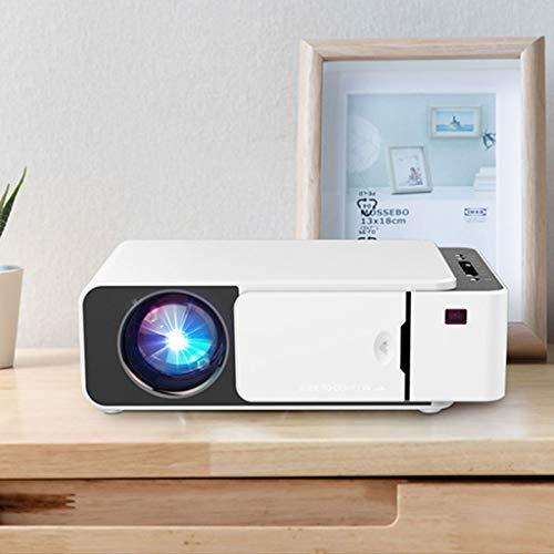 HongLianRiven projector HD 1280 x 720 dpi wandgietthuisbioscoop - 25 x 17,1 x 7,9 cm - kan op hetzelfde scherm worden gebruikt - voor thuiskantoor 11-18