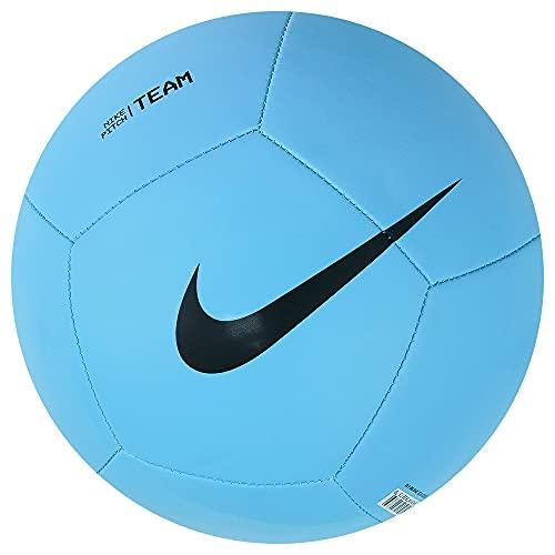 Nike Pitch Team Ball DH9796-410 - Balón de fútbol, Color Azul y Negro