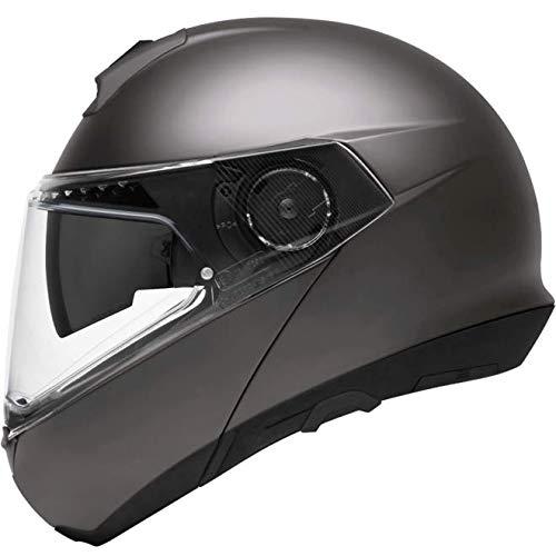 Schuberth 4546319360 C4 Pro - Motorradhelm Unisex - Erwachsene, grau (Metallic Grey), 63 (XXL), 1 Stück