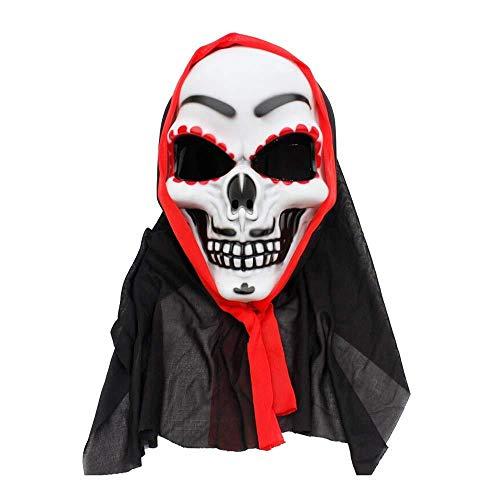 masker, feestelijk masker, Halloween, feestdagen, volgelaats, horrormasker, Halloweenkostuum.