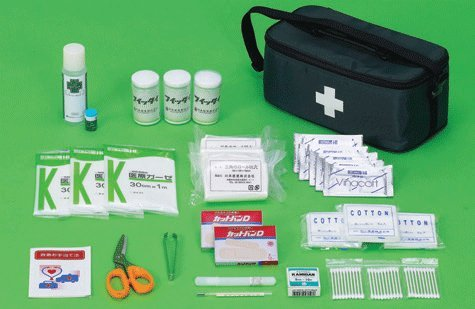 災害少人数用救急箱(約5〜10人用救急セット) 防災避難用品
