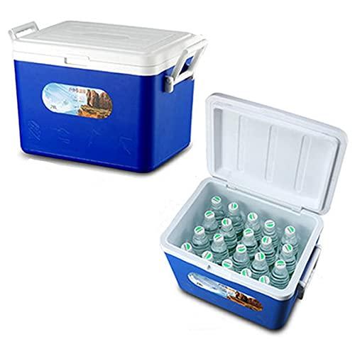JY&WIN Caja de refrigeración para camping al aire libre Caja de aislamiento para refrigeración al aire libre Coche Frío Caja Viaje para mantener caliente y fresco