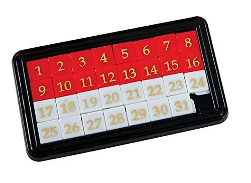 GOWI 360-73 Schiebepuzzle Maxi, Logikspiel