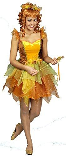 K31250427-44-46 - Disfraz de hada para mujer (tallas 44-46), color bosque