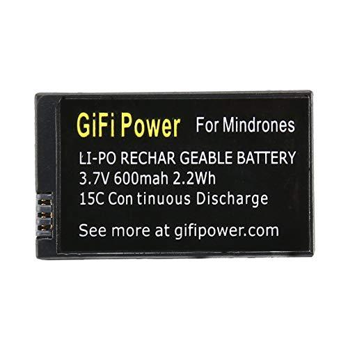 KoelrMsd Batería Lipo de Repuesto de 3,7 V 600 mah,