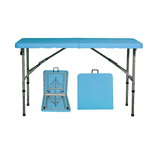 Rectangular Outdoor Foldable Table, Dining Table and Chairs for Home Use, Simple and Portable, No Installation, 500kg Load