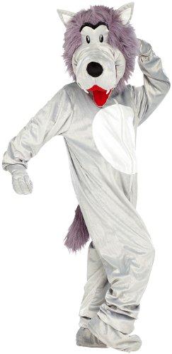 infactory Tierkostüm: Halloween- und Faschings-Kostüm Wolf (Tier-Karnevalskostüme)