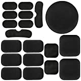 Yzpacc 19Pcs Universal Airsoft Helmet Pads, Tactical Helmet Replacement Foam Padding Kits Bicycle Accessories Mats for Fast Mich CS ACH FMA USMC PASGT