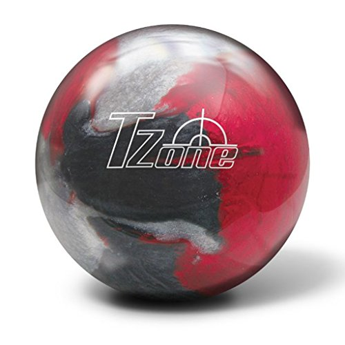 Brunswick T-Zone Scarlet Shadow Bowling Ball, Scarlet Shadow, 13 lb
