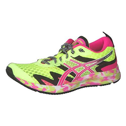 Asics Gel-Noosa Tri 12, Zapatos para Correr Mujer, Amarillo, 38 EU