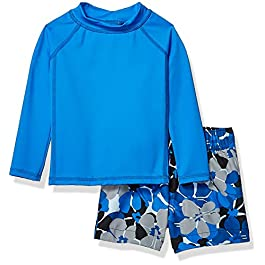 Amazon Essentials UPF 50+ Baby Boy's 2-Piece Long-Sleeve...