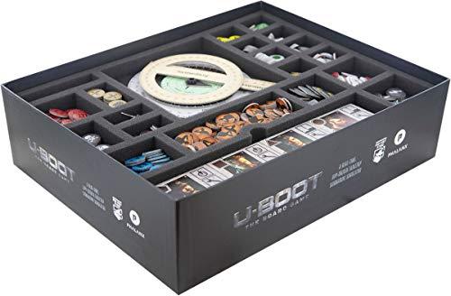 Feldherr Schaumstoff-Set kompatibel mit U-Boot Das Brettspiel - Box