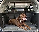 Ottima qualita' griglia separatrice Deluxe per Cani e Animale Domestici Auto con 1 Adesivo da PC...