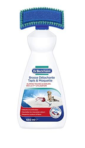 Dr. Beckmann - Brosse Nettoyante Tapis & Moquette 650 ml - Elimine efficacement les taches tenaces et les mauvaises odeurs - Formule puissante à l'oxygène actif