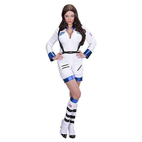 Widmann 11023 - volwassenen kostuum astronautin, overall en laarzen overtrekker, L