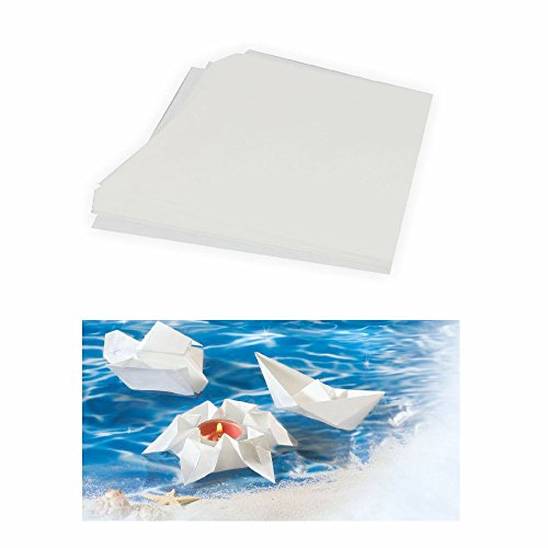 Schwimmpapier 65g 20 x 20 cm 20 Blatt weiß