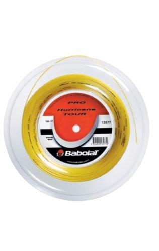 Babolat Pro Hurricane Tour - Cuerda para Raquetas de Tenis (200 m), Color Amarillo (Gelb) - 1.30mm