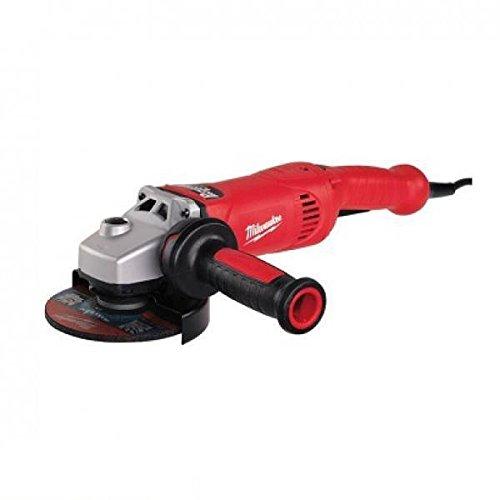 Milwaukee 0002311 Amoladora Angular, FIXTEC, Velocidad Variable, Interruptor Hombre Muerto, 11000 rpm Velocidad, 1750 W Potencia, 125 mm Disco Diámetro