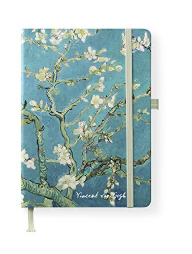 van Gogh 16x22 cm - Blankbook - 192 blanko Seiten - Hardcover - gebunden: ArtLine (ArtDiaries)